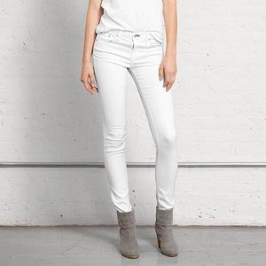 rag & bone/JEAN The Skinny in Bright White Sz 25